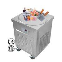 Erzoda Fried ice cream roll machine KO-600 Máquina de helado salteado Machine froide à rouleaux de crème glacée Máquina de helados