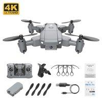 Dropship KY905 Mini Drone Ile 4 K Kamera HD Katlanabilir Drones Quadcopter Tek Anahtar Dönüş FPV Takip Beni Takip et RC Helikopter Quadrocopter Kid's Oyuncaklar