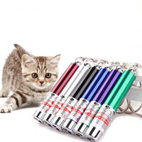 Cat Toys 1pc LED Laser Light Pointer Red Dot Pen Dog Funny Interactive Toy For Kitten Puppy Pet Supplies