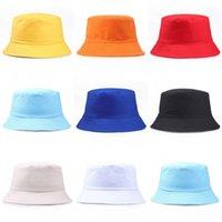 Unisex Pamuk Kova Şapka Güneş Kremi Katlanabilir Balıkçılık Avcılık Kap Havzası Chapeau Açık Güneş Kadın Erkek Çocuklar Için Şapka Önlemek 234 Q2