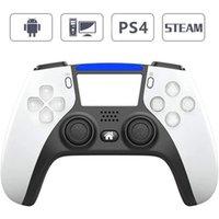 وحدة تحكم لعبة بلوتوث اللاسلكية ل ps4 وحدة 6-axis مزدوجة الاهتزاز لعبة gamepad للكمبيوتر / الروبوت الهاتف المقود gamepad c0127