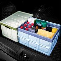 Caixa de armazenamento de tronco de carro Multifuncional Dobrável In-Cars Multi-Function Functions Caixas Caixas e Classificação Auto Custódia Capa