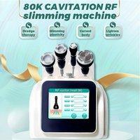 2021 초음파 80K Cavitation RF면 슬리밍 기계 진공 슬림 피부 강화 바디 뷰티 장비