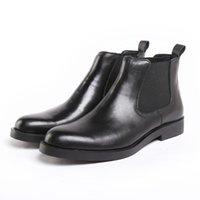 men's Chelsea Boots Genuine Leather 2021 New Autumn Winter Fashion Women's Ankle Retro Martin males