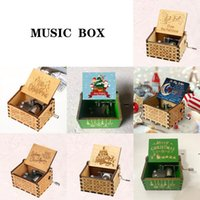 Wooden Handcrafted Music Box Christmas Birthday Valentine's Day Gift EWF7837