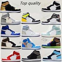 رجالي أحذية رجالي أحذية رياضية امرأة رياضية الدانتيل متابعة الأحذية جلدية رجل إمرأة حذاء رياضة كرة السلة أعلى جودة الحجم US13 EUR36-47