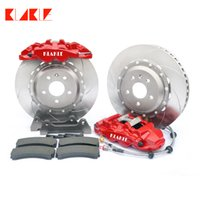 Klakle 8560 Freones Kit 4 Big Pot Freio Caliper 380 * 32mm Disco de carro durável 20 polegadas roda dianteira para Ford Focus