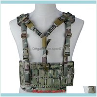 Jackets Wear Athletic Outdoor Apparel Sports & Outdoorsoutdoor Hunting With Gun Sling Detachable Strap Tactical Combat Vest Adjustable Shoot