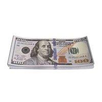 الجملة الورق مطبوعة ألعاب المال الولايات المتحدة الأمريكية 20 50 100 دولار واليورو فيلم الدعامة البنكنوت للأطفال هدايا عيد الميلاد أو فيلم الفيديو