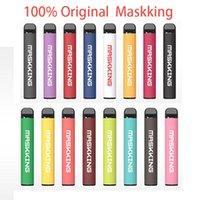 100% original autêntico maskking alto pro 1000 sopros cigarro descartável vape caneta dispositivo pod starter kit local mk