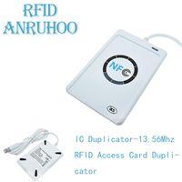 Vecteur de la carte de contrôle d'accès ACR122U IC DUPLICATOR RFID Cryptage DÉCODING 13.56MHZ NFC Smart Ship Writer ISO14443 CLONE CLONE USB CLONE
