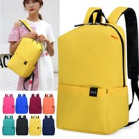 Backpack 2021 10L Capacity Colorful Men's And Women's Bag Light Schoolbag Backpack(35*23*13cm)