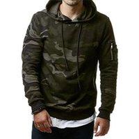 Neue Mode Männliche Kleidung Hombre Hip Hop Hoodie Trainingsanzug Camouflage Sweatshirt Männer Slim Fit Casual Hoody