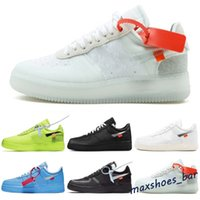 Force 1 one 2021 En kaliteli 1 Off MCA Mavi Beyaz Kırmızı Gümüş Metalik Erkek bayan Koşu Ayakkabıları Volt 2.0 Düşük siyah yeşil GNER 36-45