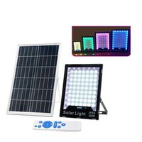 LED Solar Lights Outdoor Security Floodlight Atmosphere lamp IP65 Waterproof Auto-induction Flood Light for Lawn Garden usalight