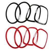 Other Lighting System 4Pcs Glossy Tail Light Head Rims Frames Covers Fit For Mini Cooper F55 F56