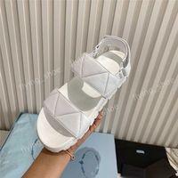 Bayan Platformu Retro Sandal Slayt Toka Terlik Yastıklı Nappa Deri Çevirme Seksi Düz Eril Hatları Sportif Allure Bayanlar Loafer'lar Slaytlar Kutusu Ile Slaytlar