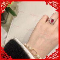 Designer Bracelets For Women Designers Stainless Bangles Luxurys Letter Pearl Bracelet Luxury Jewelry Bangle Armband Braccialetto Pulsera DQ