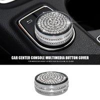 Diamant Car Center Console Multimedia Button Dekoration Trim Abdeckung für Mercedes Benz A B W212 GLK GLA CLA ML GL-Klasse