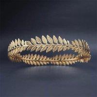 Hair Clips & Barrettes Gold Metal Hairbands For Women Accessories Designer Hoops Bow Wedding Leaf Headband Bridal Headwear Bands Clip