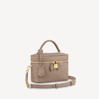 흑인 여성 핸드백에서 도매 숄더 가방 세면대 PM empreinte 가죽 세면 용품 파우치 화장품 좋은 메이크업 가방 M45608