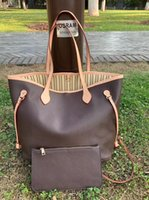여자 쇼핑 가방 고품질 가죽 지갑 토트 새로운 패션 어깨 가방 일련 번호 일련 번호 32cm