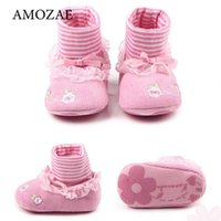 First Walkers Fall Winter Born Baby Boots Girl Screw Shoes Boys Snow Toddler Fur Warm Kids