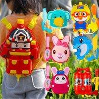 Детский рюкзак Водяной пистолет игрушка выдвигая большой емкости распылитель открытый игрушки летние игры 210803