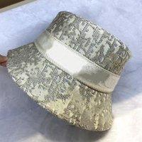 مصمم دلو قبعة رجل قبعة قبعة إمرأة واسعة بريم القبعات عارضة القطن الخالص إلكتروني الأزياء ساندي شاطئ الشمس قبعات 3 اللون
