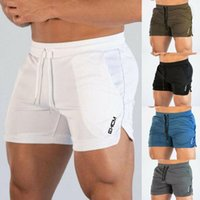 Men's Shorts Men Gym Training Workout Sportswear Casual Clothing Fitness Running Male Pants Swim Beachwear Drawstring Trouser