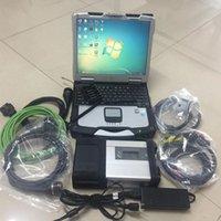 MB Estrela C5 para Mercedes Benz Ferramenta de Diagnóstico com Toughbook CF30 Laptop 320GB HDD Carro e caminhão Scanner