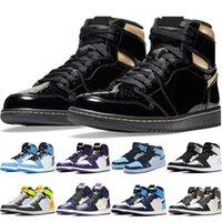 Черные Золотые Мужчины Баскетбольные Обувь Женщины Серебряный Ног Темный Университет Mocha Синяя Панда Обсидианская Тень Мужской Тренер Кроссовки Открытый Спортивный Обувь
