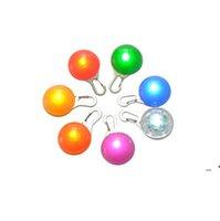 멀티 컬러 LED 개 애완 동물 펜던트 다채로운 빛 깜박이 깜박이 펜던트 애완 동물 용품 광선 안전 태그 CCB8817