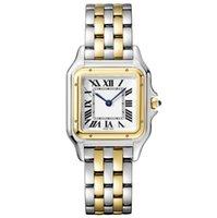 패션 레이디 드레스 시계 여성 화이트 다이얼 쿼츠 Movemetn 시계 스테인레스 스틸 팔찌 고품질 방지 사파이어 유리 080