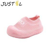 أحذية رياضية Justsl 2021 الربيع الرضع الطفل أولا المشي الأحذية لينة أسفل طفل أحذية لمدة 0-1-3 سنة الفتيان الفتيات