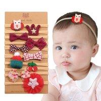 90704 Baby Bow Flowe DeeDebands Multi Styles Friendly Eco-Friendly Fashion Fashion Fashion Niños Infant Los accesorios para el cabello Diseño original de la buena calidad 10pk