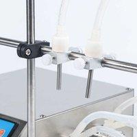 Machines de remplissage 2 Tête Pompe péristaltique Semi automatique Pompe de parfum liquide Jus d'huile essentielle bouteille d'eau faisant la machine 0.5-650ml zyxl