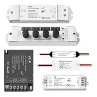 Controllers Top Quality High Power 2 Channel CCT LED Controller For Dual Color Strip Lights Dimmer 2.4G RF Wireless 12V 24V 36V 5A 15A