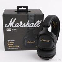 Marshall Mid Anc Active Shootmance On-Ear The Wireless Bluetooth-наушники, черный