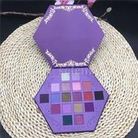 Cinq étoiles Maquillage Maquillage Pauvre Palette Palette Sang Ombre 18 couleurs Purple Artistique Eau Shadows Palesettes