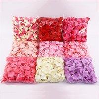 New20 farben künstliche seide rose blütenblätter simulation blume hochzeitsfest ehe bett mehrere farben verfügbar blume blütenblätter ewd5501