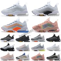 Nike Air Max Zoom 950 2021 Nuevo Zm950 para mujer Cojines para hombre Cojines ZS ZM 950 Triple blanco Colorido Negro Japón Volt Neon Rainbow Deporte Deporte zapatillas de deporte