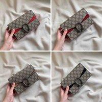 구찌 GG 미니 Dionysus 어깨 가방 고품질 고급 디자이너 핸드백 지갑