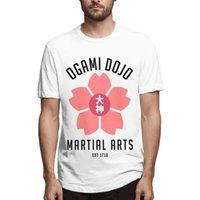 Erkek T-Shirt Danganronpa Ogami Dojo Erkekler Yenilik Tees Kısa Kollu Yuvarlak Boyun T-shirt 100% Pamuk 2021 Varış Giyim