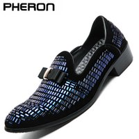 2020 Men Evening Formal Dress Rhinestone Shoes Loafers Casual Prom Wedding Party Leather Slip on Shoes Men Silver Plus Size 13 Q0901