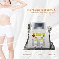 Portable OPT Nd Yag Laser Diode Permanent Hair Tattoo Removal Machine SHR IPL Eyebrow Line Pigment Q Switch Beauty Equipment