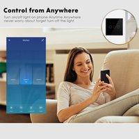 2021 Smart Home Singolo interruttore del cavo antincendio Zero antincendio Interruttore universale Wifi + RF Touch Phone Smart Control