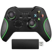 Newst 2.4G تحكم لاسلكي محسن Gamepad ل Xbox ONE / ONE S / ONE S / ONE X / ELITE / PS3 / Windows 10 / Dual Vibration # 3