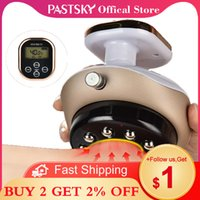 Pastsky Electric Vacuum Anti-Cellulite Massager Cupping Suction Guasha Scraping Heating EMS Fat Burning Slimming Magnet Therapy