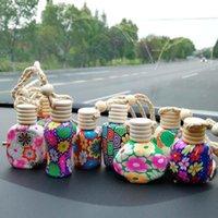 Парфюмерные бутылки полимерные глины пустые духи эфирные масла диффузоры мода автомобиль подвесной автомобиль висит орнамент упаковочные бутылки DWD10108